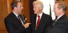 Meeting with President Clinton & Prime Minister Kenny