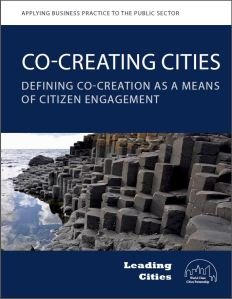 Co-creating cities cover