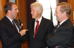 President Clinton and Prime Minister Enda Kenny